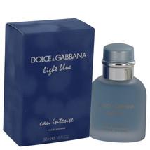 Dolce & Gabbana Light Blue Eau Intense 1.7 Oz Eau De Parfum Cologne Spray image 2