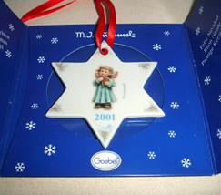 Hummel Goebel Joyful Recital Christmas Tree Ornament 2001 #1718 Hum 2098... - $14.90