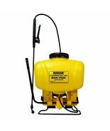 Hudson Commercial Bak-Pak Sprayer Four Different Spray Settings 4 Gallon - $120.38