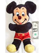 """VINTAGE WALT DISNEY CHARACTERS 16"""" MICKEY MOUSE STUFF PLUSH DOLL TOY MAD... - $11.34"""