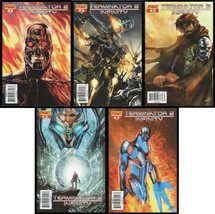 Terminator 2 Infinity Comic set 1-2-3-4-5 Lot Stjepan Sejic cover art T2... - $25.00