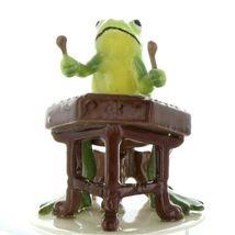 Hagen Renaker Miniature Frog Froggy Mountain Breakdown Dulcimer Ceramic Figurine image 5
