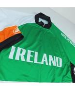 Performance Cycling Green Jersey Ireland Erin Go Bragh Sz 3XL 1/2 Zip 3 ... - $59.99