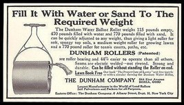 Dunham Rollers 1911 AD Water Ballast Roller Sand or Water Lawn Garden To... - $14.99