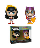 NEW SEALED Funko Vynl DC Comics Bombshells Wonder Woman & Batgirl Set - $18.49