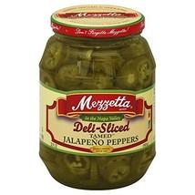 Mezzetta Deli-Sliced Tamed Jalapeno Peppers, 32 Ounce Pack of 6