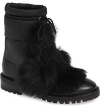 JIMMY CHOO Genuine Shearling Bootie Size 36 MSRP: $1,195.00 - $742.50
