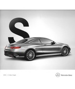2015 Mercedes-Benz S-CLASS COUPE brochure catalog 550 4MATIC 63 65 AMG  - $12.00