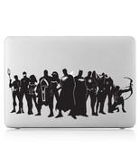 MacBook Sticker Laptop Vinyl Decal Justice League Superheroes  519M - $9.50