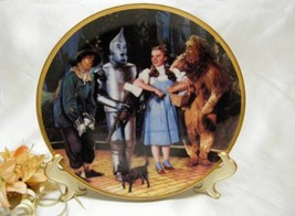 3588 Hamilton Collection Were Off To See The Wizard Collector Plate - $30.00