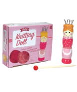 Traditional Wooden French Knitting Doll Kit - $185,36 MXN