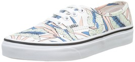 Vans Authentic Tropical Leaves True White Mens 3.5 New Nib Womens 5 - $46.71
