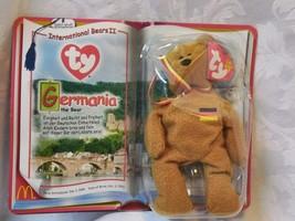 2000 MCDONALDS TEENIE BEANIE BABY INTL BEARS II GERMANIA THE BEAR NEVER ... - $19.80