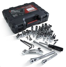 Craftsman Tool Set 108 Piece Mechanics Tools Toolbox Wrenches Ratchets S... - $97.02