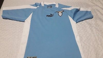Primary image for soccer  old Jersey club  Lazio italy  puma brand size
