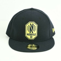 Nashville SC New Era 9Fifty Snapback Soccer Hat Nashville Soccer Club MLS - $19.79