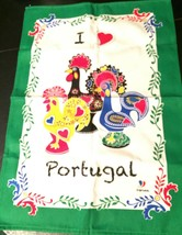 I Love Portugal Wall Hanging Collectible Rooster Print - $25.00