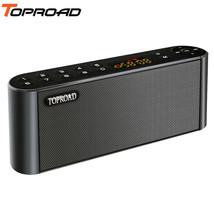 TOPROAD® Wireless Bluetooth Speakers Portable Enceinte Speaker Handsfree... - $35.06