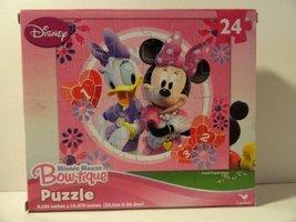 Minnie Mouse Bowtique 24 Piece Jigsaw Puzzle - Varied Designs - $4.27