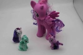 "Hasbro My Little Pony Large 8"" TWILIGHT Pegasus Unicorn Figure 3Pc Cake Toppers  - $12.08"