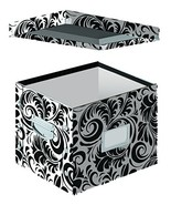 Snap-N-Store Letter Size File Box, 11 x 14 x 1 Inches, Black and White S... - $30.64