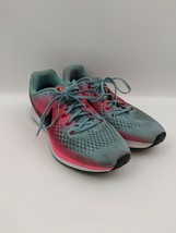 Nike Women's Air Zoom Pegasus 34 Blue/Pink Running Shoes Size 12 880560-406 - $39.19