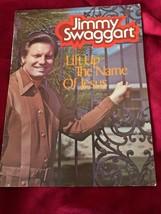 Jimmy Swaggart Lift up Name Jesus Songs 4 Pt Harmony Piano sheet music b... - $10.88
