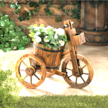 Barrel Trycle Planter - $70.12