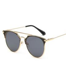 69774e84ca06 Luxury Vintage Round Sunglasses Women Brand Designer 2018 Cat Eye Sungla...  -  12.14