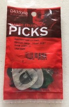 D'Addario Planet Waves Assorted Pearl Celluloid Guitar Picks 10 pack x3 ... - $9.74