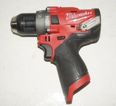 Milwaukee 2504-20 M12 FUEL 12V 12-Volt Brushless 1/2 In. Hammer Dril, To... - $79.19