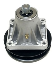 Spindle Assembly + Pulley (756-0969) For MTD 618-0240 618-0430 918-0240 918-0430 - $39.55