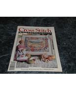 Cross Stitch & County Crafts Magazine January February 1992 Bunnys Lunch - $2.99