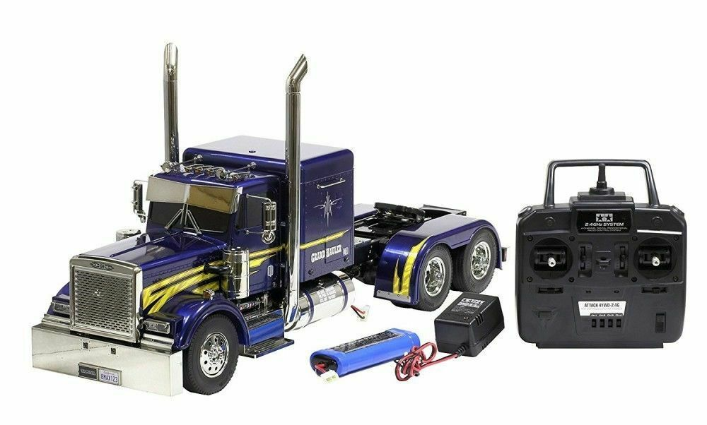 Primary image for F/S TAMIYA 1/14 RC Big Truck Series No.43 Trailer head Grand Hauler 56343 Japan