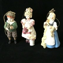 Ashton Drake Ornaments, Dianna Effner Mother Goose Collection- Mary Mary... - $29.99
