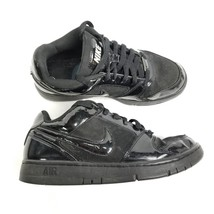 Nike Air Prestige II Womens Shoes Sneakers Sz 7.5 All Black Laced 318972... - $32.69
