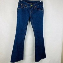 True Religion Women Size 28 Joey Flare Jeans Back Flap Pockets - $22.77