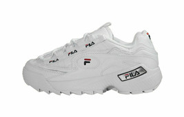 Fila Women's D-Formation Sneakers 5CM00514-125 - White/Navy/Red - $54.99