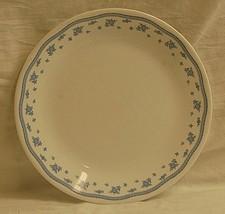 "Old Vintage Corner Stone By Corning 10-1/4"" Dinner Plates Blue Floral & Sprigs - $16.82"
