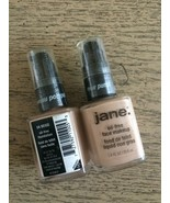 2 x JANE BE PURE Oil-Free Makeup Foundation SEALED - Beige #04 Lot of 2 - $29.39