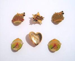 Walt Disney World Pinback Pin Gold Toned Pins  - $19.95