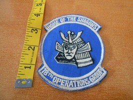 Original United States Air Force 18th Operations Group Shoguns Patch #355 - $13.86