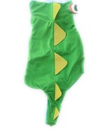 "New Horizon Target Green DRAGON Dinosaur Lightweight Dog Costume MEDIUM 15"" - $1.99"
