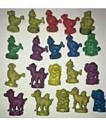 Vintage Stamps CAEDMON 1985 lot of 20 Rare ink Stamps Chicken Dog, Camel... - $233.74