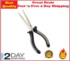 Rapala Fisherman's Durable Carbon Steel Pliers w/ Nickel Plated Finish B... - $14.06