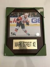 "New York Islanders Wall Plaque 15"" X 12"" Mark Streit  #2 - $34.64"