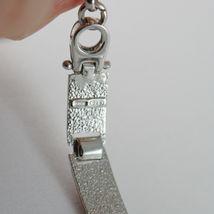 Bracelet Argent 925, Drapeaux Nautique Émaillés,Long 18 cm, Épaisseur 6 MM image 3