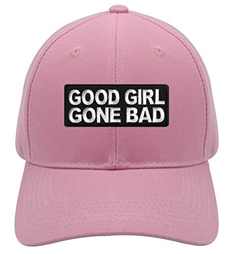 Good Girl Gone Bad Hat - Pink Adjustable Womens - Badass Women's Hat