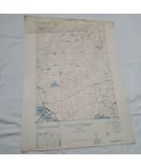 1945 Antique Map of caroga Lake , New York - Army Map Service 1st editio... - $64.35