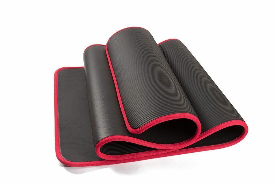 Extra Thick Mat Yoga Fitness Pilates Gym Exercise Pads Bandages Storage Bag Case